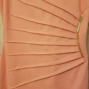 Ivanka Trump Dresses - Coral pretty dress with gorgeous side detail